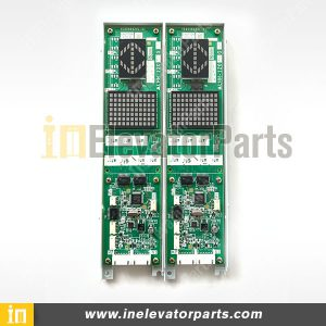 Original Mitsubishi Elevator HOP Display Board LHH-1200EG24, LOP Display PCB LHH-1200CGS24 LHH-1200CAG