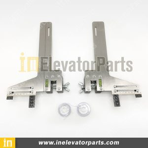Original Elevator Guide Rail Alignment Gauge, Stainless Steel High Precision Lift Guide Rail Installation Tool